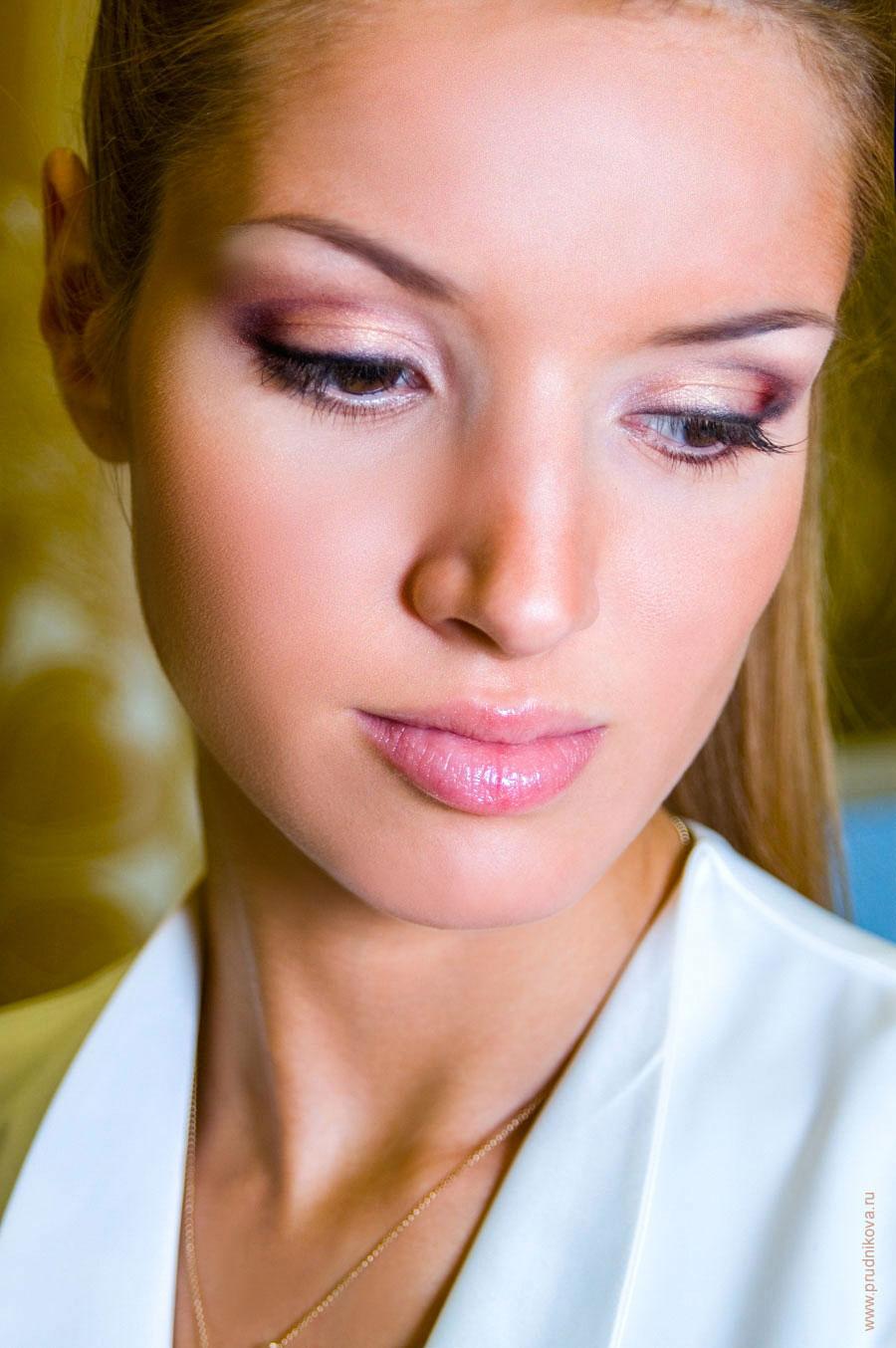 Фото моделей девушек макияж