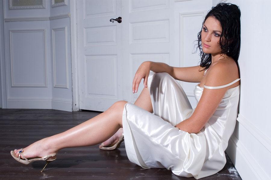 Модный белый стиль для портфолио.